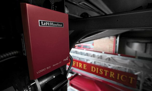 LiftMaster operator installed in firehouse