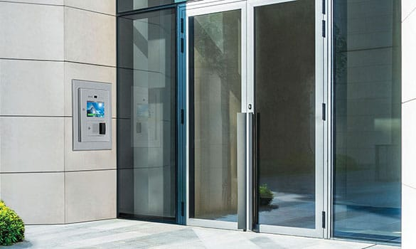 access control system for commercial building