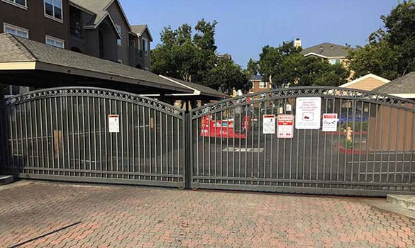 automatic gate for residential community